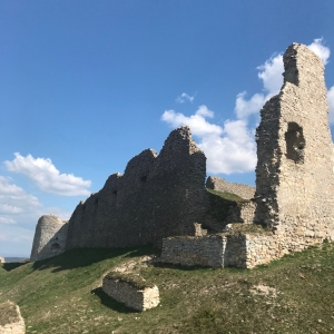 Ruins of the castle Branč