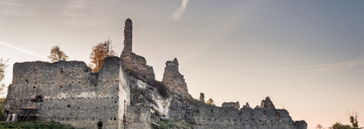 Ruins of the castle Korlátko